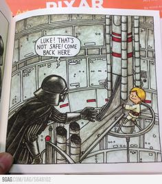 See 10 images from 'Vader's Little Princess' and 'Darth Vader and Son' Star Wars Meme, Star Wars Rebels, Bd Star Wars, Star Wars Comics, Star Wars Art, Lego Star Wars, Darth Vader Y Su Hijo, Darth Vader And Son, Darth Maul