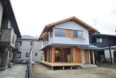 自然素材の家 アトリエDEF » 北名古屋の家