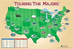 Want to go to a game at every MLB stadium! Dream family vacation - east coast parks.