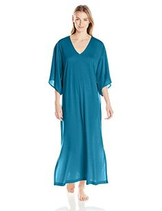 f35a62d285 N Natori Womens Congo Caftan Saxony Blue XSmall     Check out the image by  visiting the link.(This is an Amazon affiliate link)
