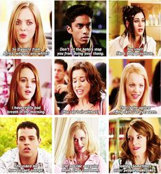 Mean Girls quotes, because every Pinterest user needs them somewhere.