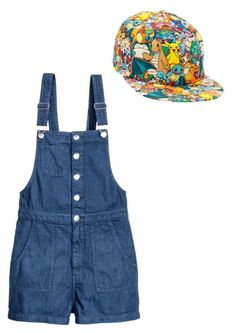 A fashion look from February 2018 featuring short shorts and snap back hats. Browse and shop related looks. Overall Shorts, Overalls, Fashion Looks, Polyvore, Shopping, Women, Catsuit, Jumpsuits, Work Outfits