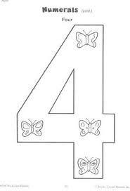 Выкройки цифры 3