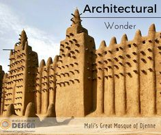 7 unknown architectural wonders -- Forget the Taj Mahal and the Coliseum – some of the world's most impressive structures remain out of the public eye. Pictured: Mali's Great Mosque of Djenne (Credit: Francois Xavier Marit/Getty) Taj Mahal, Monuments, Famous Bridges, Ancient Buildings, Pyramids Of Giza, Great Wall Of China, Paris Travel, Mosque, Art And Architecture