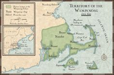 Wampanoag Territory: The Wampanoag were part of a larger group of Indians known as the Algonquian. Native American Tribes, Native American History, American Indians, Native Americans, National Geographic Society, Teaching Social Studies, Nativity, Geography, Pilgrims