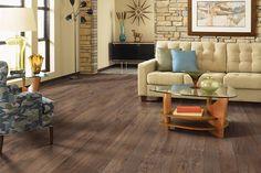 Barrington Laminate, Toasted Chestnut Laminate Flooring | Mohawk Flooring #flooring #laminate #mohawkflooring