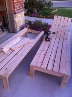 DIY Outdoor Chaise Lounge. by diane.smith