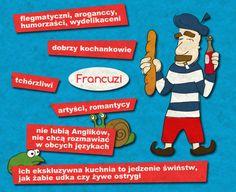 Stereotypy o Francuzach  Loty do Francji:  http://www.tanie-loty.com.pl/tanie-loty-do-francji.html