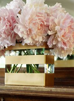 Is it ok to have pink flowers on coffee tables or side tables?