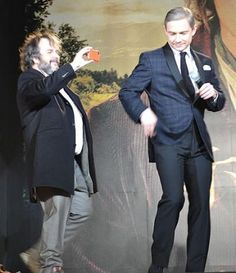 Martin Freeman and his thighs