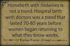 Homebirths are not a trend