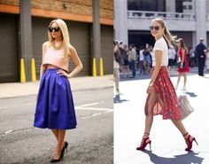 midi skirt gonna a ruota al ginocchio (15) - Irene's Closet - Fashion blogger outfit e streetstyle