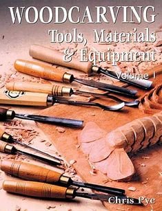 Woodworking Equipment Woodcarving Tools, Materials
