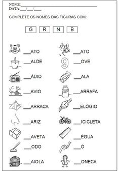 Build Your Brazilian Portuguese Vocabulary Learn Brazilian Portuguese, Portuguese Lessons, Portuguese Language, Vocabulary, Literacy, Worksheets, Activities For Kids, Teaching, How To Plan