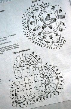 Мини - салфеточки под чашечки и стаканы + схемы. Обсуждение на LiveInternet - Российский Сервис Онлайн-Дневников