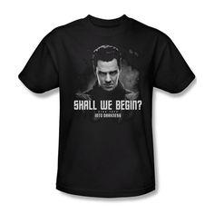 Star Trek Into Darkness Shall We Begin Youth Ladies Jr Women Men L/S T-shirt Top #Trevco #GraphicTee