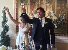 Tanti auguri agli sposi Massimo e Alessia. #sposi #matrimonio #wedding #marriage #day #love #amici #friends #lamiciziaèunacosaseria #forever #barcollomanonmollo #disco #lovely #fantapescara #Pescara #Abruzzo #villasgariglia #ascolipiceno #marche #dapazzi #amigos #igers #modelli