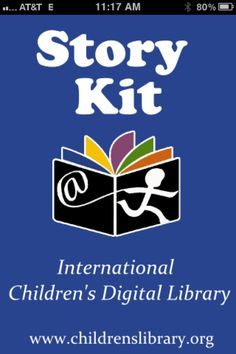 Story Kit App-International Children's Digital Library. From Practically Speeching. Pinned by SOS Inc. Resources @sostherapy.
