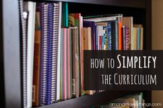simplifythecurriculum