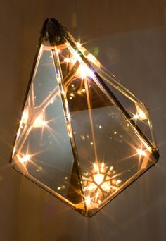 Maxhedron lighting by Bec Brittain