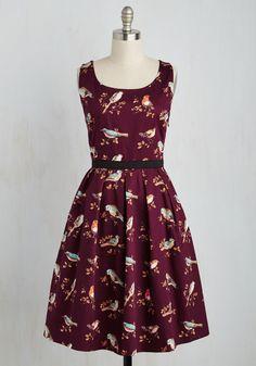 Dresses - Greenhouse Grandeur Dress in Plum