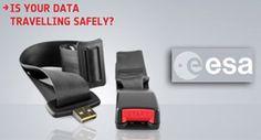 ESA  WOOI® progetta il poster per promuovere il questionario sulla campagna di sicurezza informatica e dei dati realizzato da ESA, European Space Agency.
