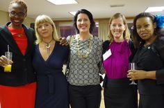 #VVGROW 2014 reunion in Capetown. From Left to Right: Carol Mwazi (Huru Consult, Kenya), Barbara Kasasa (Oh Voila, South Africa), Natalie Du Toit (Indigi Designs, South Africa), Colleen Dyble (Vita Global, USA), Phyllis Mwangi (Edge Consult, Kenya)