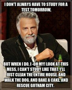 This is me when I need to create the test for my kids, too!  I read the questions to them one day because I never actually got around to typing them out! #procrastination
