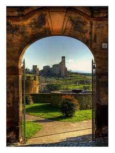 The Church of St. Pietro to Tuscania - 9 by Clementi