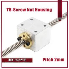 4Pcs T8 Trapezoidal Lead Screw Nut Housing Bracket For 3D Printer Parts Reprap CNC (not include screw) //Price: $24.85//     #Gadget