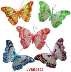 Artificial Butterflies-Sheer Butterflies-Decorative Butterflies