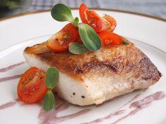 Fish with black olive sauce  #peruvian food #peruvian recipes