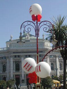 #Luftballon #Dekoration für verschiedene Anlässe #decoration #balloon #burgtheater