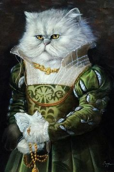 Photomontage, Dog Artwork, Fancy Cats, Whimsical Art, Cat Art, Pet Portraits, Canvas Art Prints, Amazing Art, Cute Animals