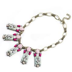 Pink Lady Necklace