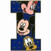 Alfabeto de Mickey, Minnie, Donald y Pluto I.