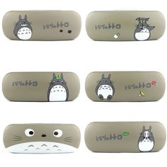Fashion Cartoon Totoro Pattern Glasses Case Eyeglasses Spectacles Protection Box #Unbranded