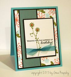 Gina K. Designs- StampTV blog: Gina K. Designs Teams up with Card Maker Magazine!