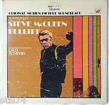 Bullitt original soundtrack LP record (1968). Music by Lalo Schifrin.