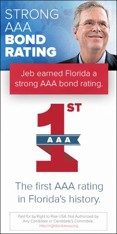 Jeb Bush online ad from his SuperPAC.