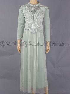 Gamis Bordir B1213 Pusat Grosir Baju Wanita Www