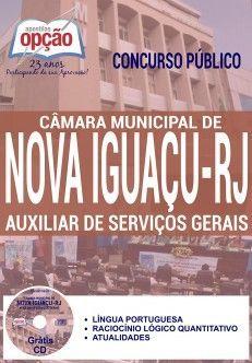 Apostila - AUXILIAR DE SERVIÇOS GERAIS - Câmara Municipal de Nova Iguaçu-RJ