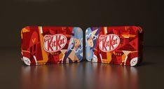 Kit Kat Nestle Break Edition — The Dieline - Branding & Packaging Design