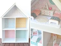 Taking on a renovation is a big task, but what about a DIY dolls house renovation? Simple, right? Wrong! Here are 14 exquisite doll's house renovations from around the web.