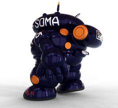 astrobot on Behance