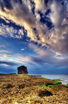 Taiwan coastal scene