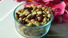 Baked Peanuts n cranberries best for cocktail parties