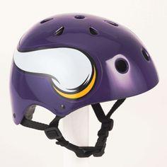 minnesota vikings bike helmet