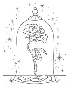 free printable coloring pages disney princess the beast and the beauty belle for.,free printable coloring pages disney princess the beast and the beauty belle for boys & girls. Rose Coloring Pages, Coloring Pages For Kids, Coloring Books, Coloring Sheets, Kids Coloring, Wedding Coloring Pages, Beauty And The Beast Drawing, Disney Beauty And The Beast, Beauty And The Beast Rose Tattoo