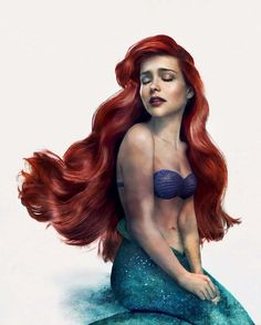 The Little Mermaid by JIRKA VÄÄTÄINEN - #TheLittleMermaid has always been my favourite Disney film. When I was asked to bring to life my favourite Disney moment, I knew it had to be the one scene that sums up Disney for me. More than anything else, it's the hopes and dreams that make Disney so special to me. And this time around, I wanted to make this moment a bit more magical and actually bring it to life. #PartOfYourWorld #Ariel #MyDisneyLife